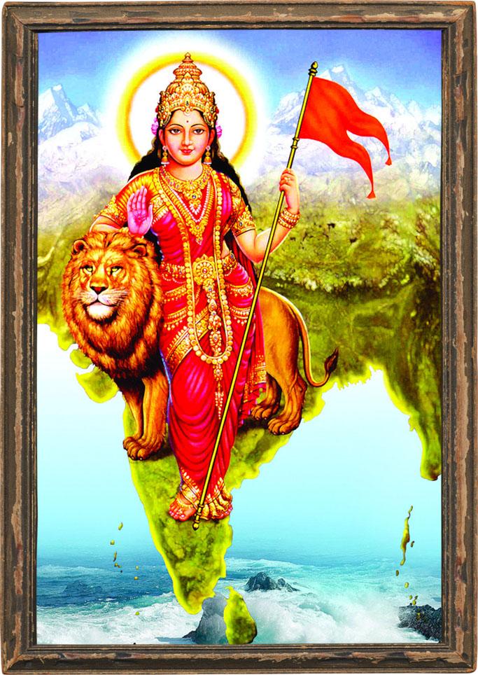 bharat mata hinduism indian culture braj vrindavan act