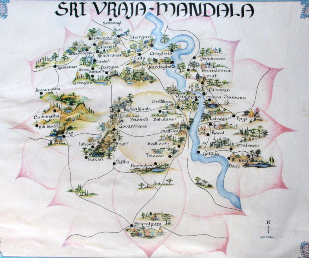 Vrajamandala-Map