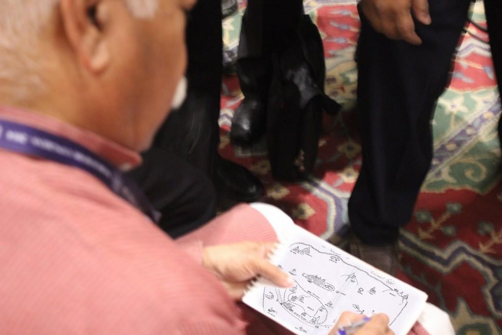 mohan bhagavat signing